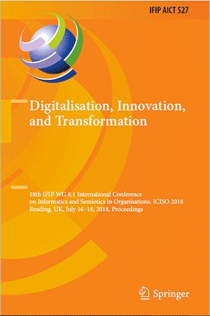 Digital Innovation & Transformation (pages 136-144), Springer